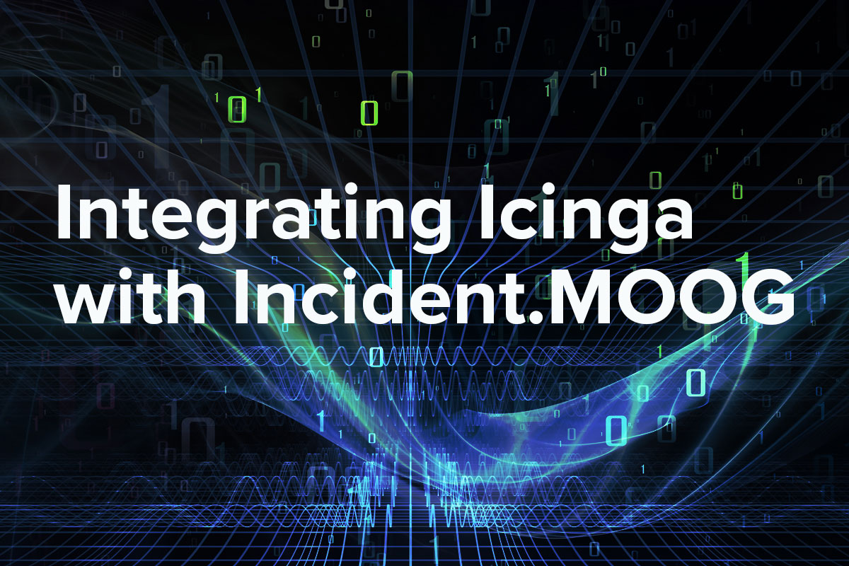 Leverage machine learning algorithms to integrate data from the Icinga monitoring tool into Moogsoft AIOPs.